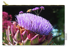 Blooming 'choke Carry-all Pouch by Kathy McClure