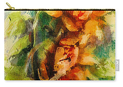 Blooming Flowers - Batik Carry-all Pouch