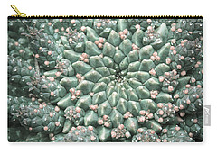 Blooming Geometry Carry-all Pouch