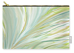 Blooming Grass Carry-all Pouch by Lourry Legarde