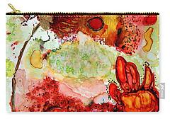Blooming Impressions.. Carry-all Pouch by Jolanta Anna Karolska