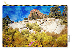 Blooming Nevada Desert Near Ely Carry-all Pouch
