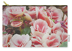 Blooming Roses Carry-all Pouch by Ivy Ho