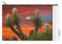 Full Blooming Yucca Carry-all Pouch by Jack Pumphrey