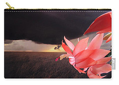 Blooms Against Tornado Carry-all Pouch