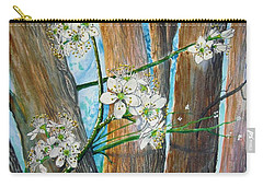 Blooms Of The Cleaveland Pear Carry-all Pouch