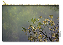 Carry-all Pouch featuring the photograph Blossom Reflection by Marilyn Wilson