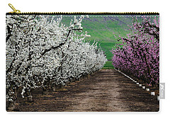 Blossom Standoff Carry-all Pouch by Terry Garvin