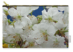 Carry-all Pouch featuring the photograph Blossoming by Christina Verdgeline
