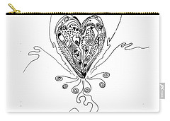 Blossoming Love Carry-all Pouch