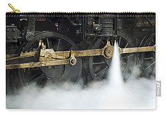 Blowing Of Steam Carry-all Pouch