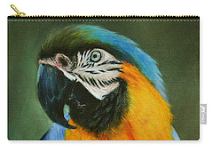 Blue And Gold Macaw Carry-all Pouch