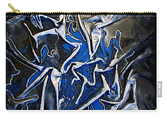 Blue And Silver Dancers Carry-all Pouch