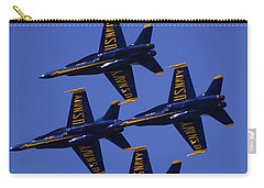 Blue Angels Carry-all Pouch by Bill Gallagher