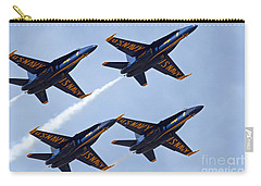 Blue Angels Over Colorado Carry-all Pouch