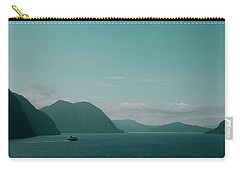 Blue As Fjord Carry-all Pouch