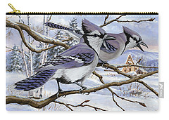 Blue Bandits Winter Afternoon Carry-all Pouch
