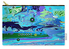 Blue Bayou Carry-all Pouch