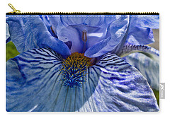 Blue Bearded Iris Carry-all Pouch