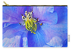 Blue Beauty Carry-all Pouch by ABeautifulSky Photography