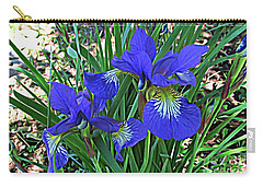 Carry-all Pouch featuring the photograph Blue Beauty by Janice Westerberg