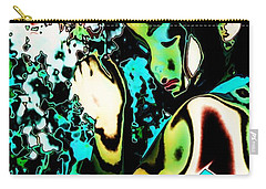 Carry-all Pouch featuring the photograph Blue Beauty by Jessica Shelton