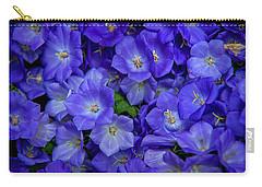 Blue Bells Carpet. Amsterdam Floral Market Carry-all Pouch