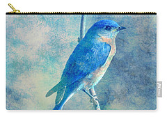 Blue Bird Blue Sky Carry-all Pouch
