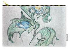 Blue Blossom 2 Carry-all Pouch