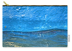 Blue Boat Abstract Carry-all Pouch