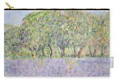 Blue Bonnets  Field In  Texas Carry-all Pouch