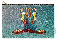 Blue Boots Carry-all Pouch
