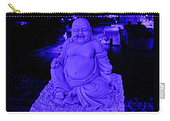 Blue Buddha And The Blue City Carry-all Pouch