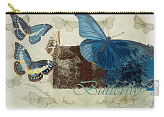 Blue Butterfly - J152164152-01 Carry-all Pouch