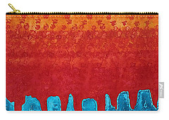 Blue Canyon Original Painting Carry-all Pouch