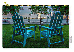 Blue Chairs Carry-all Pouch