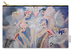 Blue Clouds The Ballet Carry-all Pouch by Judith Desrosiers