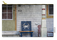 Blue Crab Chair Carry-all Pouch