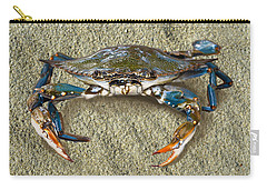 Blue Crab Confrontation Carry-all Pouch