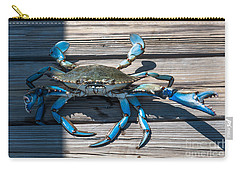 Blue Crab Pincher Carry-all Pouch