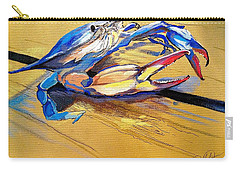 Blue Crabbie  Carry-all Pouch