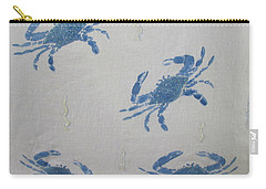 Blue Crabs On Sand Carry-all Pouch