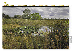 Blue Cypress Wetlands Carry-all Pouch by Fran Gallogly