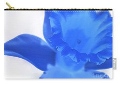 Carry-all Pouch featuring the photograph Blue Daffodil by Andy Prendy