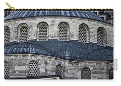 Blue Dawn Blue Mosque Carry-all Pouch by Joan Carroll