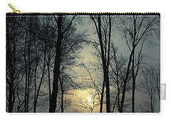 Blue Daybreak Carry-all Pouch by Karol Livote