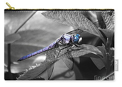 Blue Eyed Dragonfly Carry-all Pouch