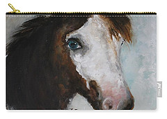 Razzle The Miniature Horse Carry-all Pouch