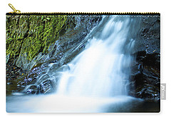 Blue Falls Off The Beaten Path Carry-all Pouch