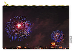 Blue Fireworks Over Domino Sugar Carry-all Pouch
